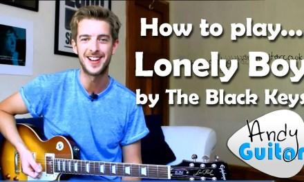 The Black Keys Lonely Boy Guitar Lesson Tutorial – Minor Pentatonic Song #7