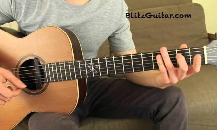 Dangerous Woman Ariana Grande Acoustic Guitar Lesson Fingerstyle