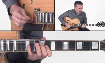 Jazz Scales Guitar Lesson – Jazz Melodic Minor Lick – Tom Dempsey