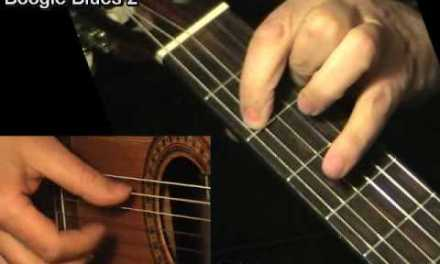 BOOGIE BLUES 2: Fingerstyle Guitar Lesson + TAB by GuitarNick