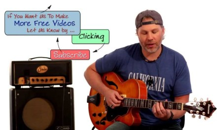 Easy to Learn Jazz Guitar Lick and Quick Guitar Lesson – How to Play Guitar