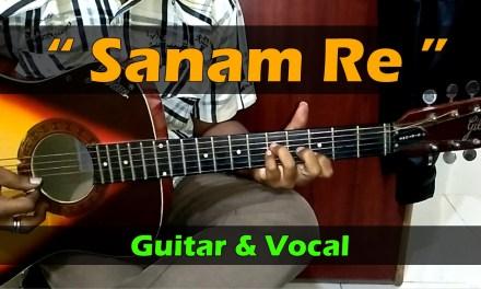 Sanam Re I Guitar Lesson I Chords I Vocals I Live Performance