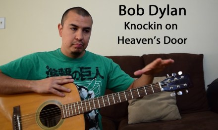 Bob Dylan-Knockin on Heaven's Door-Beginner Guitar Lesson (Chords)