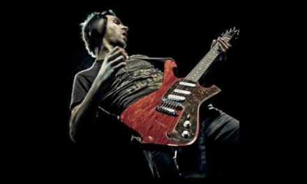 Rock Metal Backing Track in Am [Paul Gilbert style]