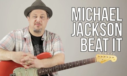 Michael Jackson – Beat It Guitar Lesson – How to play on Guitar – Riff and Chords