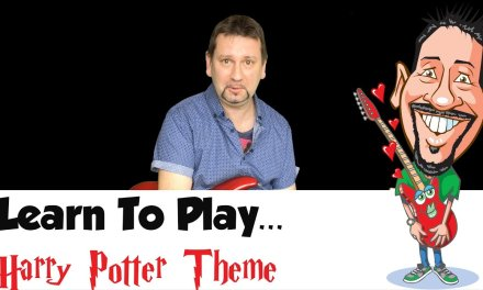 Harry Potter – Hedwig's Theme on Guitar