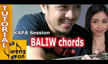 PBB season 7 Baliw song CHORDS tutorial – Maymay and Edward kapa sa PBB vid