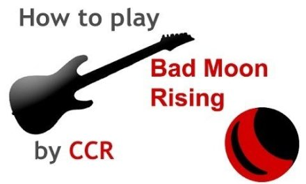 Bad Moon Rising beginner guitar lesson with chords – guitarguitar.net