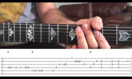 John Mayer Guitar Lesson – Sugaree Solo with Dead and Company