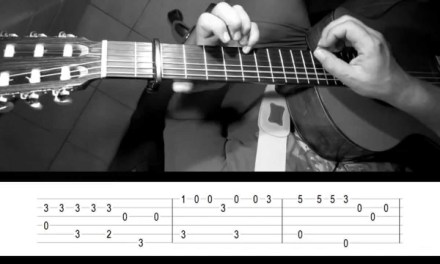 What a wonderful world – Fingerstyle guitar with tab