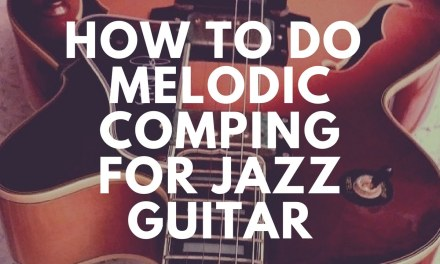 How to do Melodic Comping | Jazz Guitar Lesson by Az Samad