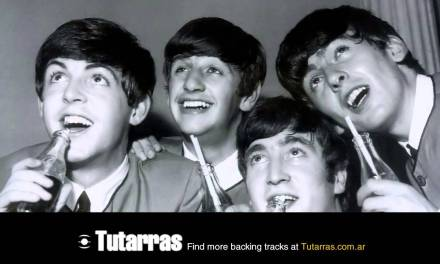 The beatles – all my loving [Guitar Backing tracks]