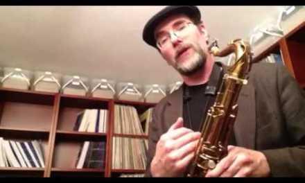 Greg Fishman Jazz Lesson – Descending Chromatic pattern