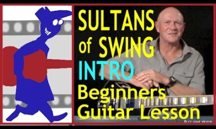 Sultans of Swing Intro (Beginners guitar lesson)