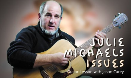 Julia Michaels Issues Guitar Lesson with Jason Carey