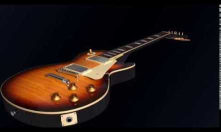 E Lydian guitar backing track