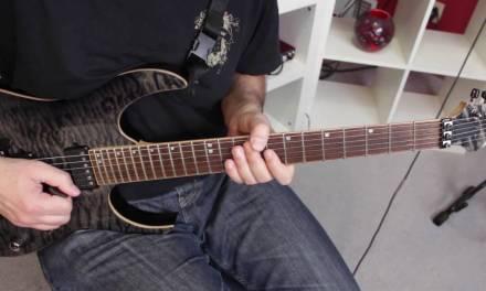 Lead Guitar Lesson on Pentatonic Scale – Easy A Minor Pentatonic Sequence