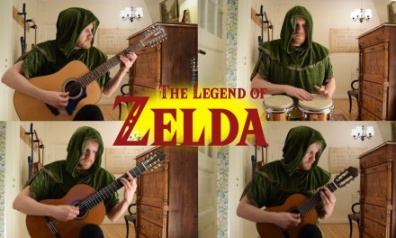 Zelda: The Wind Waker – Dragon Roost Island (Acoustic Classical 12-string Guitar and Base)