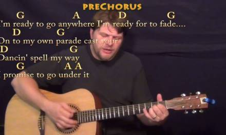 Mr. Tambourine Man (The Byrds) Strum Guitar Cover Lesson with Chords/Lyrics