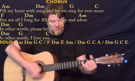 Fly Me to the Moon – Strum Guitar Cover Lesson with Chords/Lyrics
