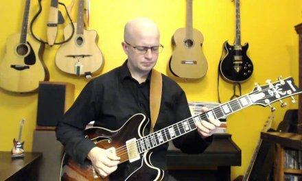 6. Jazz Guitar Improvisation over A minor 7 (Amin7)