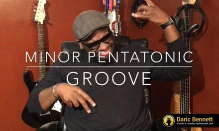 Daric Bennett's Bass Lessons – Minor Pentatonic Groove
