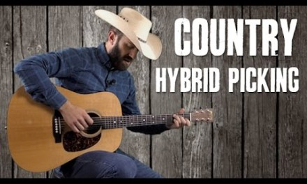 Makin' Your Rhythm Guitar Country with Hybrid Picking – Beginner Guitar Lesson
