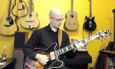 2. Jazz Guitar Improvisation over D minor 7 (dmin7)