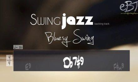 BLUESY JAZZ BACKING TRACK IN E!