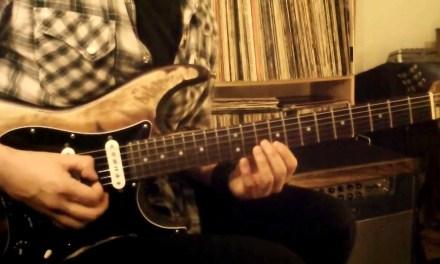 Dani Vargas guitar lesson – harmonic minor lick