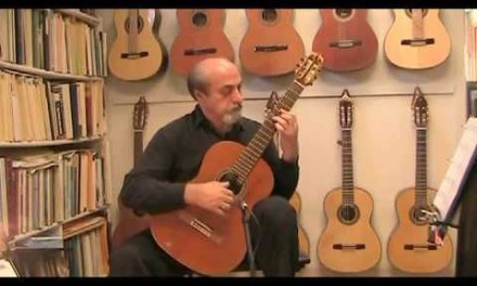 www.laguitarlesson.com Love is Blue Arranged for Classical Guitar By: Boghrat