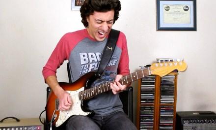 Blues Guitar – Stormy Friday Blues – Mike Bradley