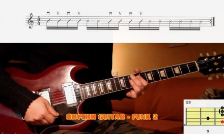 HOW TO PLAY Funk Rhythm Guitar 2 – GUITAR LESSON with TAB