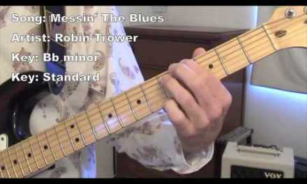 Messin' The Blues – Guitar Lesson w/tabs