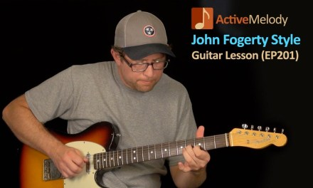 John Fogerty Guitar Lesson – CCR (Creedence Clearwater Revival) – EP201