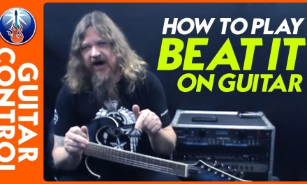 How to Play Beat It on Guitar – Michael Jackson Guitar Lesson