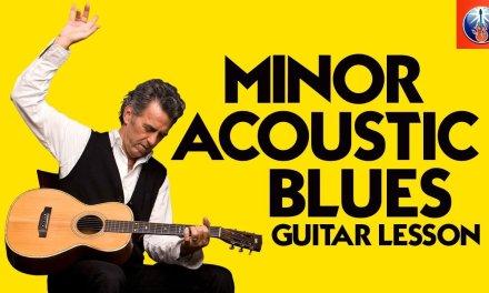 Minor Acoustic Blues Guitar Lesson