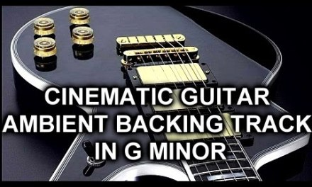 Guitar Cinematic Ambient Backing Track – Solo