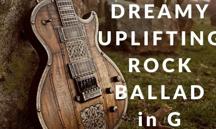 Dreamy Uplifting Rock Ballad – Guitar Backing Track in G