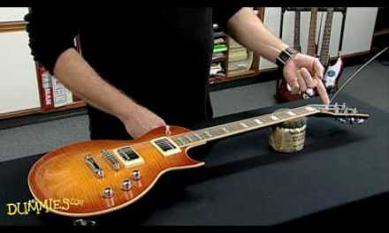 How to String an Electric Guitar For Dummies