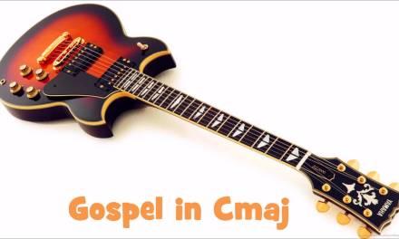 Gospel in  Cmaj Backing Track