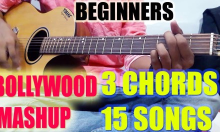 3 Basic Chords!!Play 15 Forever HIT Bollywood Songs!! Easy Tutorial Lesson For Beginners in Hindi