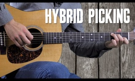 Country Hybrid Picking with an Alternating Bass Line – Beginner Rhythm Guitar Lesson