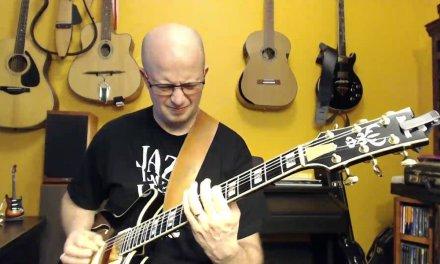 14. Jazz Guitar improvisation over 2 chords: Bbmin7, Eb7. Progression II V.