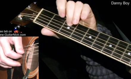 DANNY BOY: Fingerstyle Guitar Lesson + TAB by GuitarNick