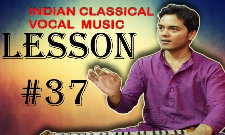 Learn Indian classical music vocal Lesson #37 Chalan Palta 4