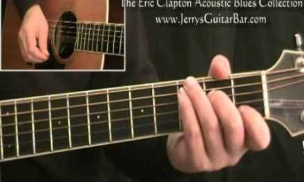 How To Play Eric Clapton San Francisco Bay Blues full lesson