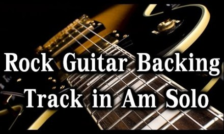 Guitar Backing Track Solo in Am