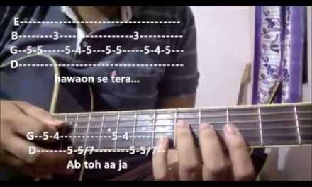 Baarish – Half Girlfriend | Guitar Tabs For Beginners