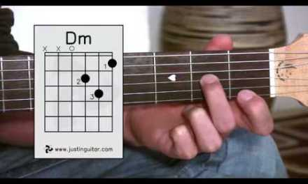 D Minor Chord (Dm) – Stage 2 Guitar Lesson – Guitar For Beginners [BC-123]